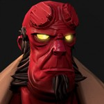 Hellboy Game Asset