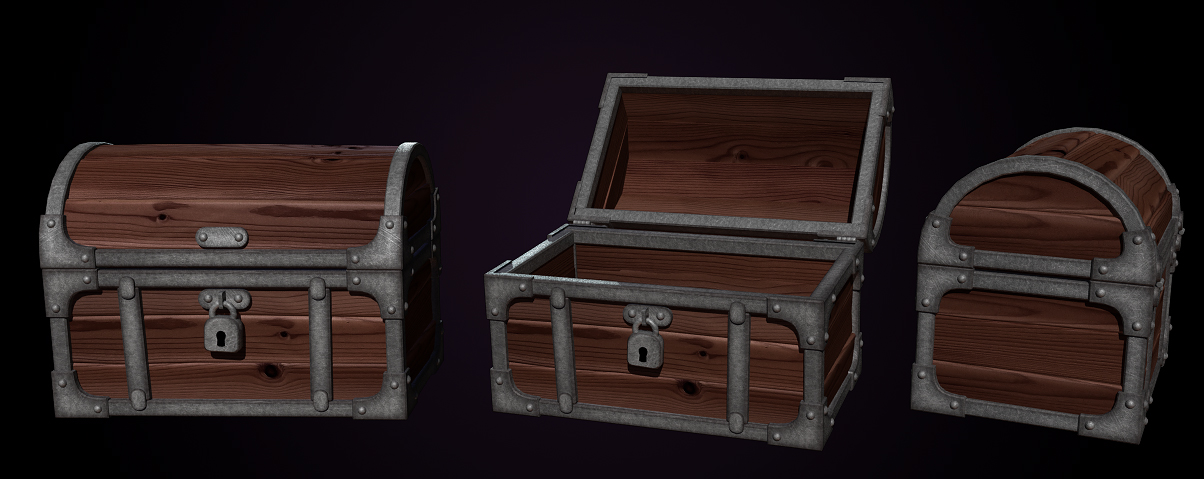 Closed Treasure Chest Front View | www.imgarcade.com - Online Image ...