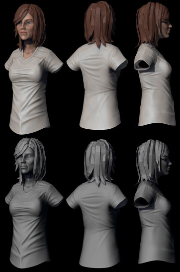 Female Sculpt and Polypaint