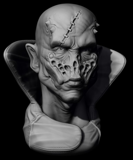 ZBrush sculpt day 10