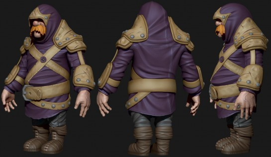 Assassin High Poly
