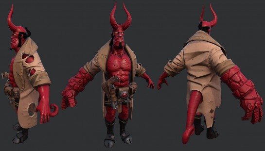 Hellboy Progress